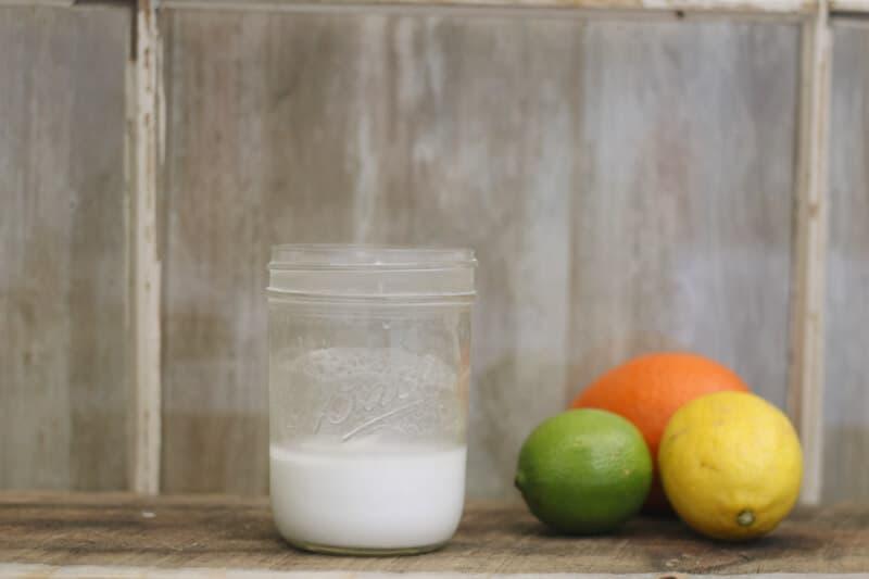 Top 10 Essential Oil Cleaning Recipes: diy citrus soft scrub