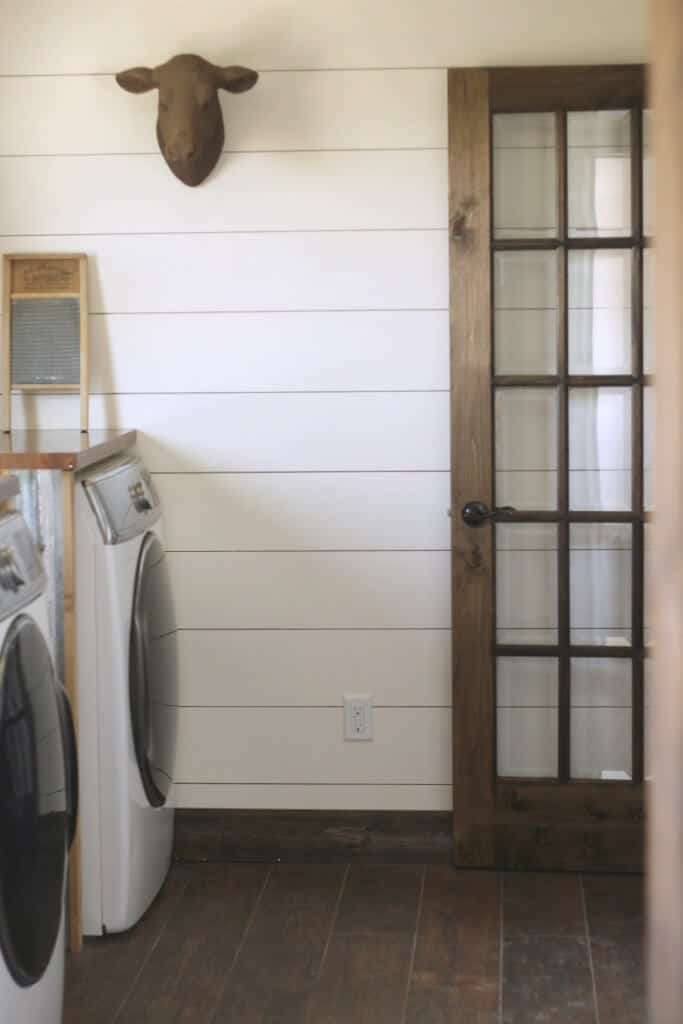 farmhouse laundry room