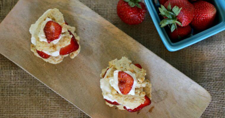 Homemade Strawberry Shortcake Recipe