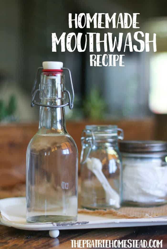 diy homemade mouthwash recipe