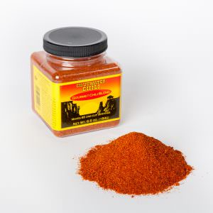 Chugwater Chili 6.5 oz. jar with powder, Chugwater Chili Product