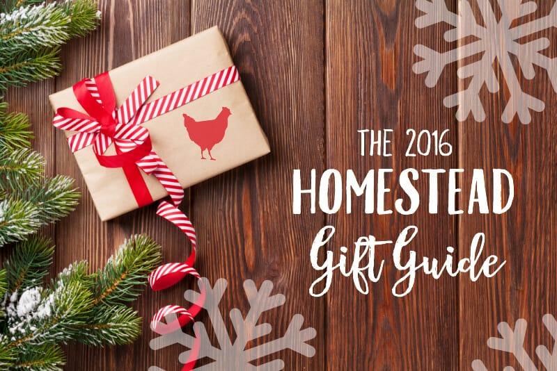 2016 Homestead Gift Guide