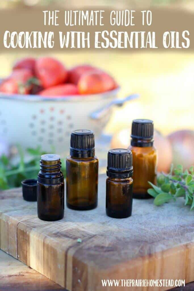 cooking with essential oils guide