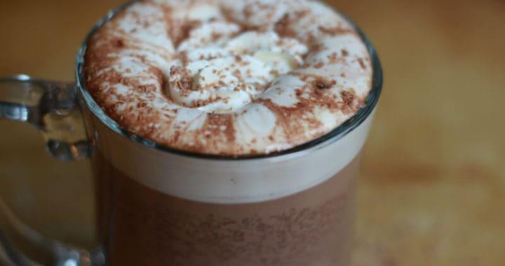 slow cooker homemade hot chocolate recipe