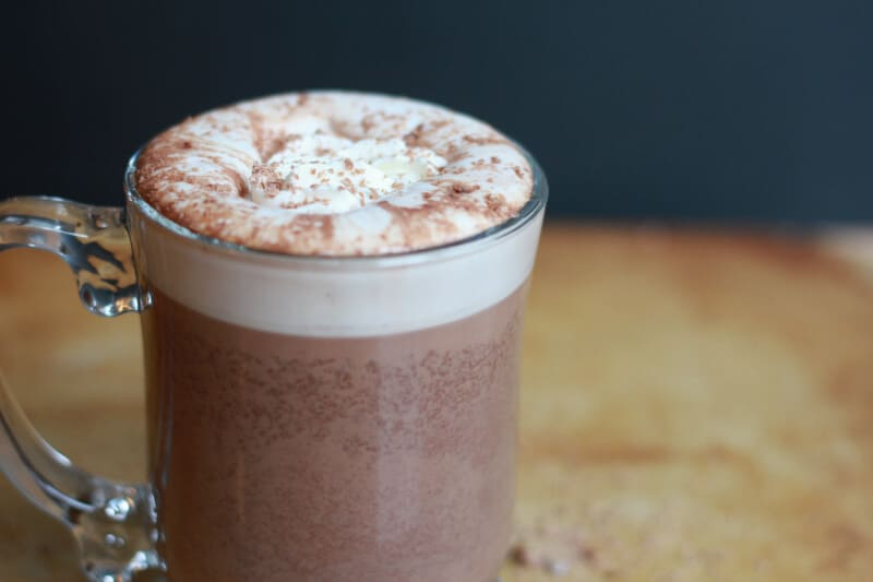 homemade slow cooker hot chocolate recipe