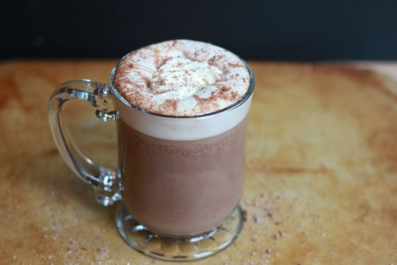slow cooker homemade hot chocolate recipe