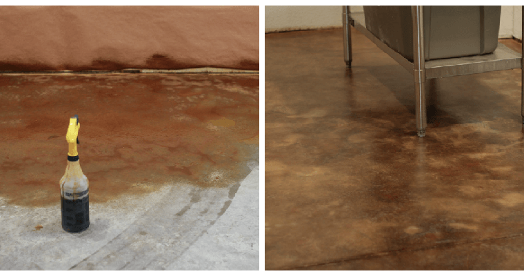 Diy homemade archives the prairie homestead for How to clean concrete floors before staining