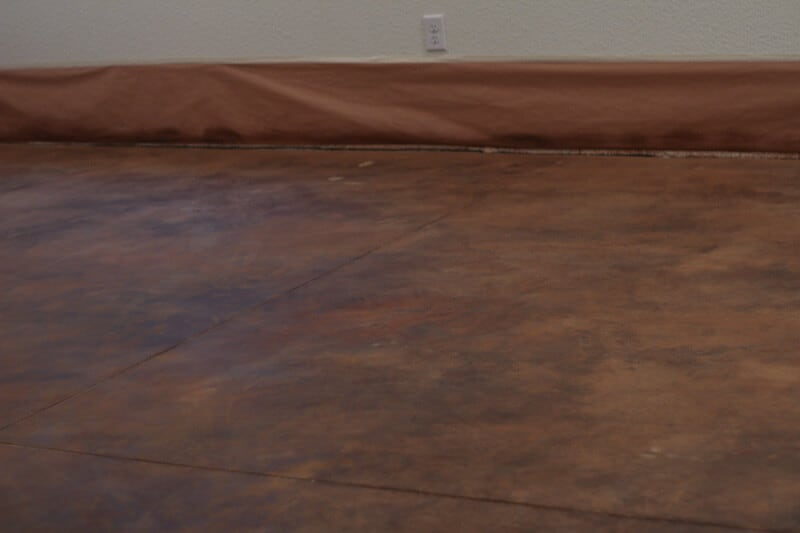 How to acid stain concrete floor meze blog for How to clean acid stain floors