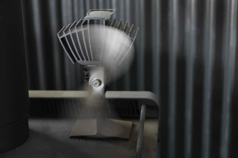 non electric wood stove fan