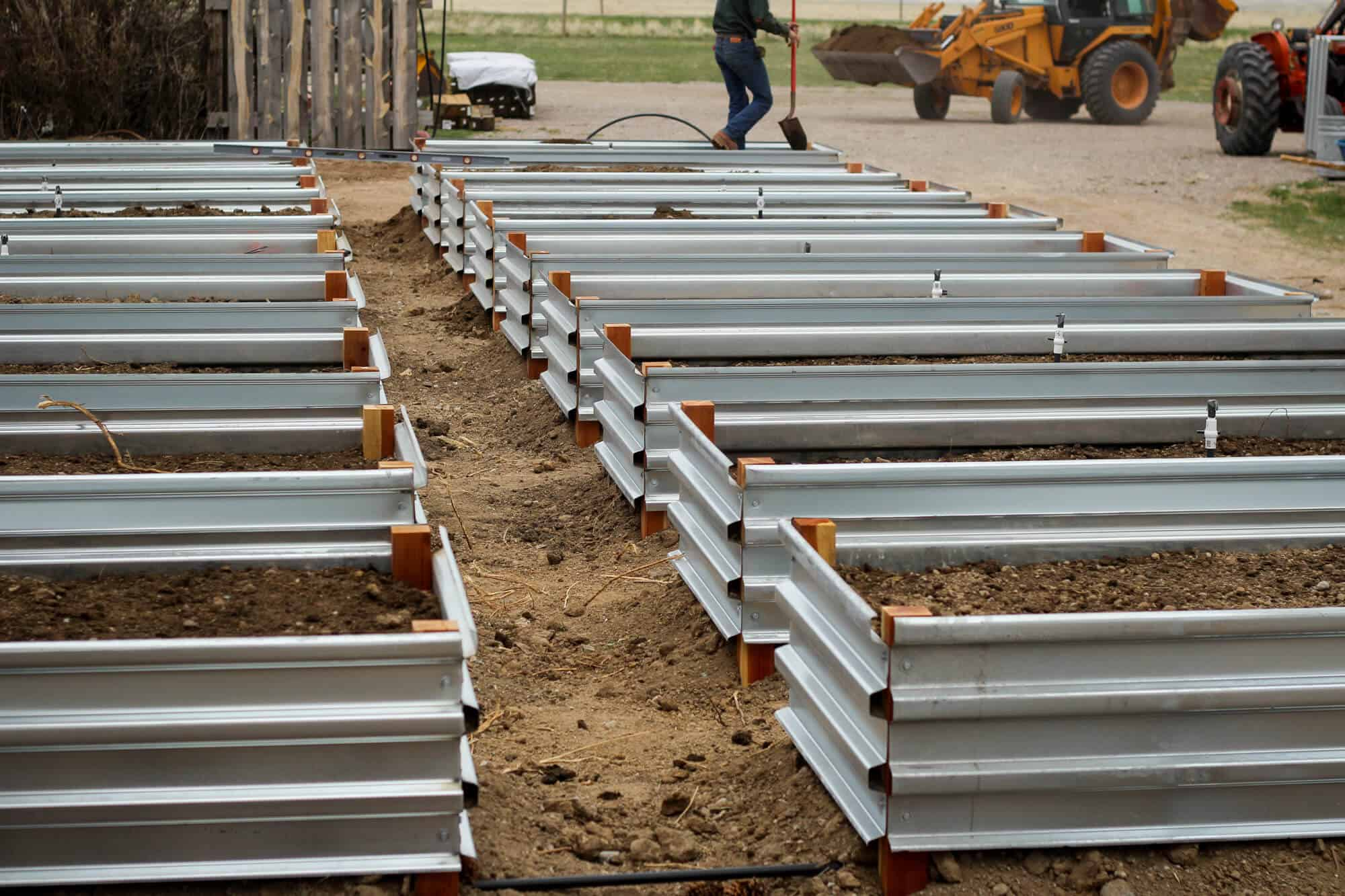 Picture of: Building Our Raised Beds The Prairie Homestead