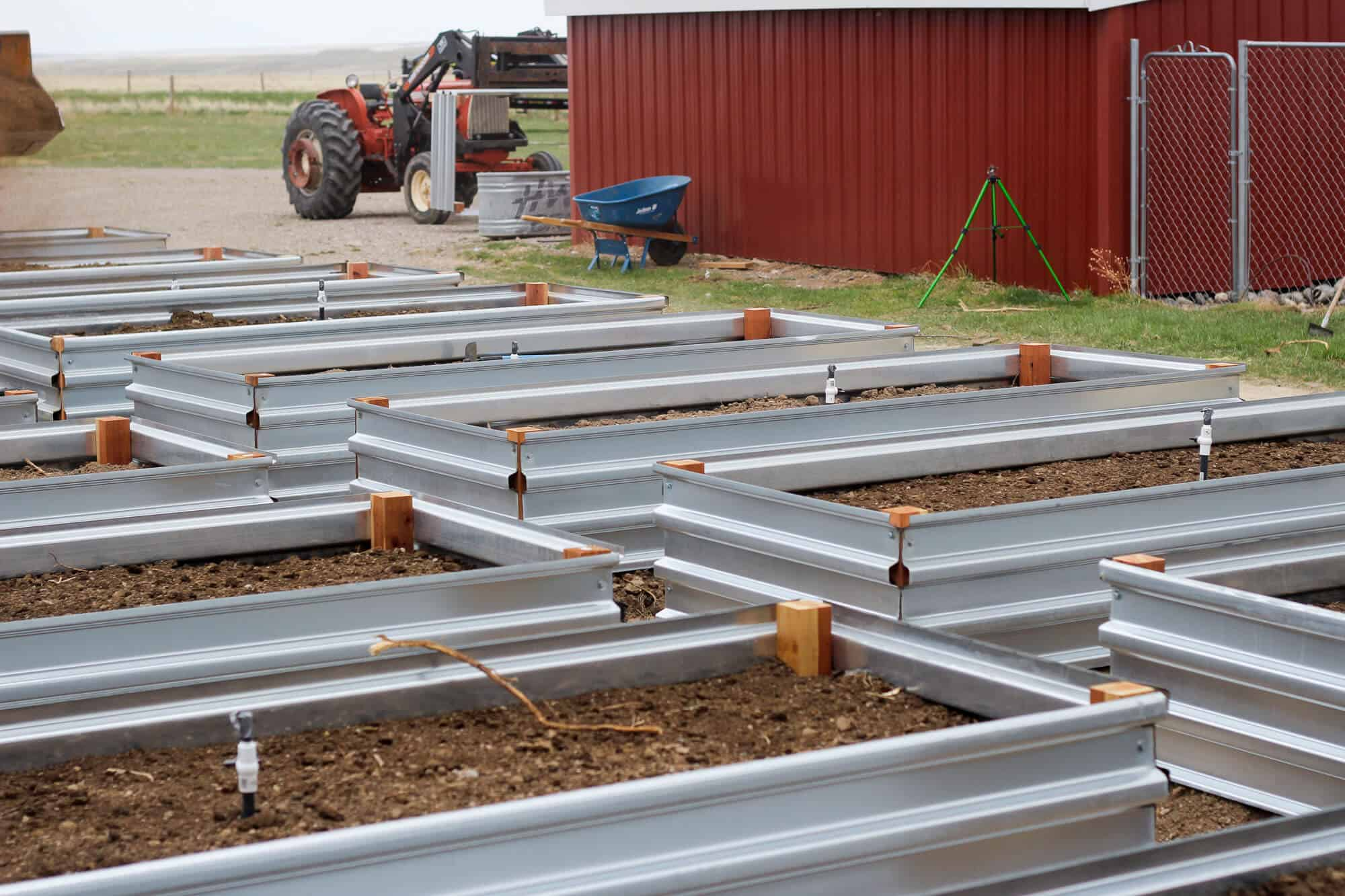 Building Our Raised Beds • The Prairie Homestead