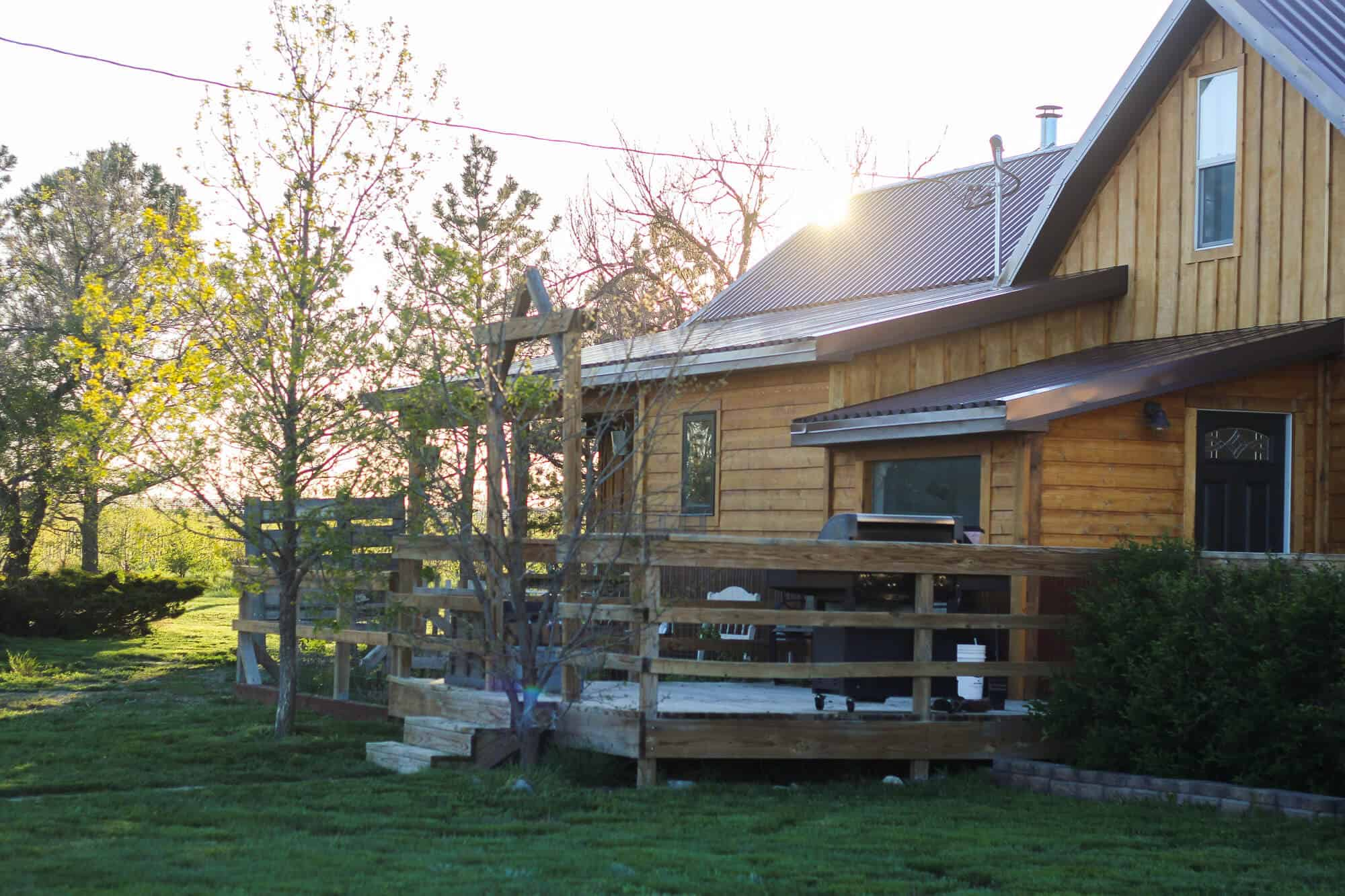 '''' from the web at 'http://www.theprairiehomestead.com/wp-content/uploads/2017/11/house-in-sun-1.jpg'