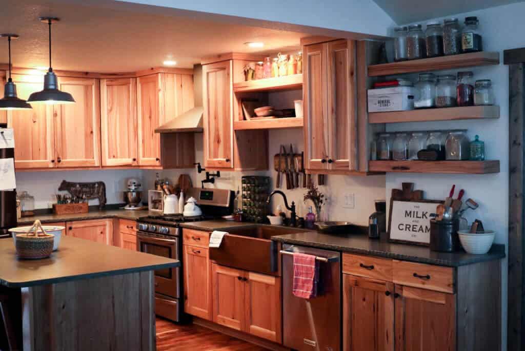 working homestead kitchen