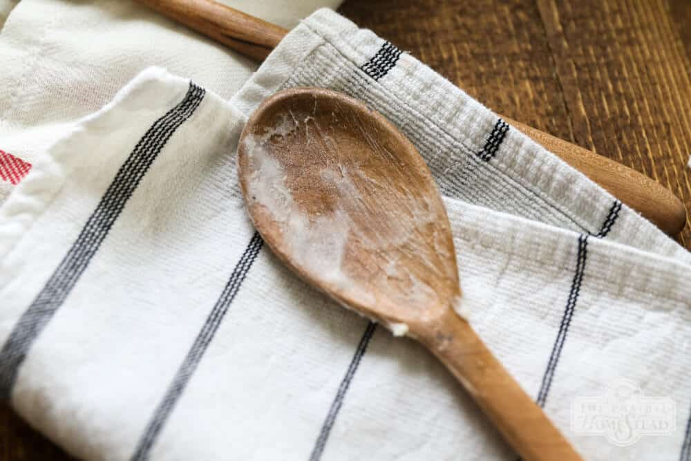 homemade spoon butter wood cream recipe