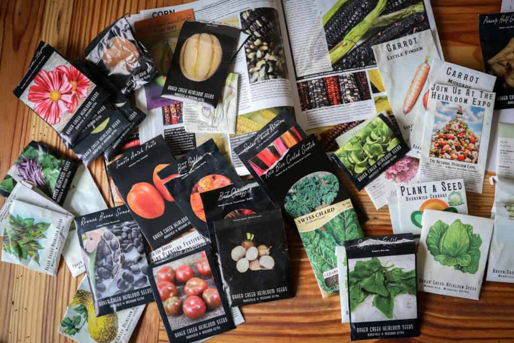 where to buy heirloom seeds