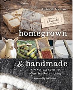 homegrown and handmade book