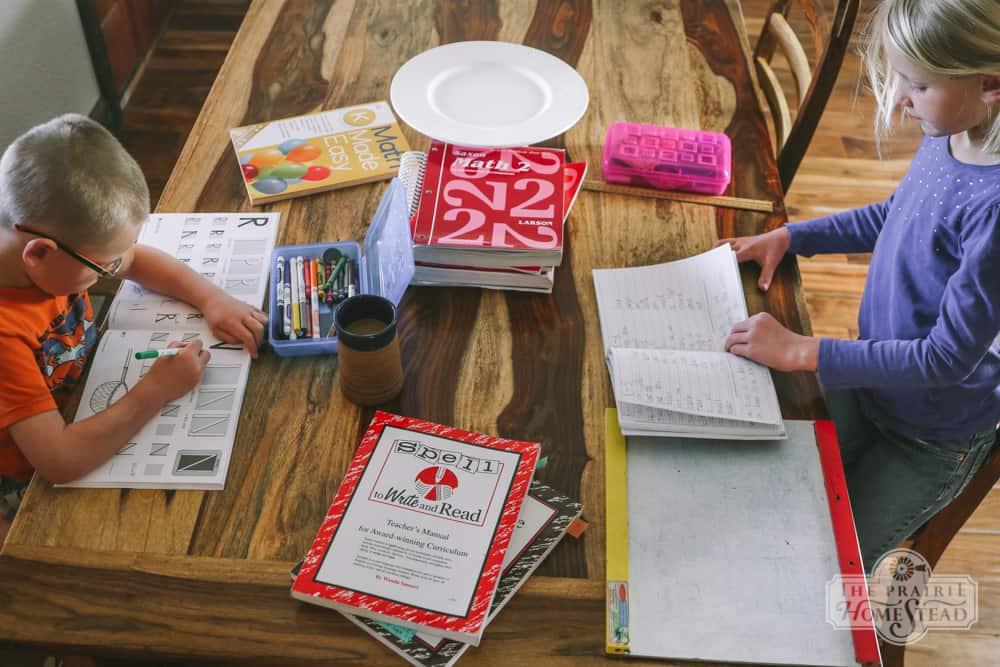 homestead homeschool second grade