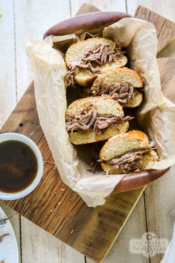 freezer friendly french dip sandwiches recipe