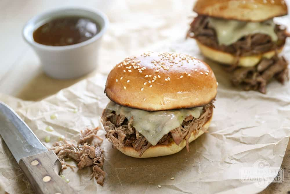 freezer friendly french dip sandwiches recipe