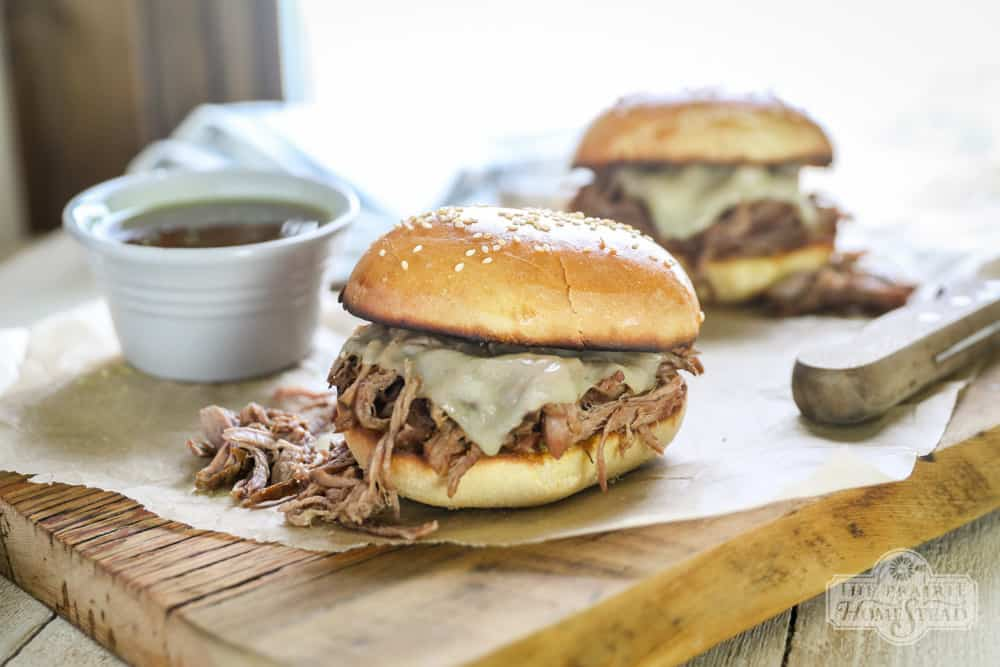 easy french dip sandwiches recipe