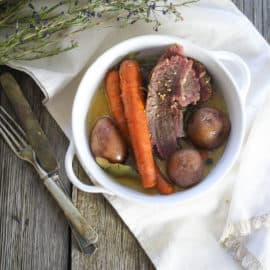 homemade corned beef recipe without nitrates