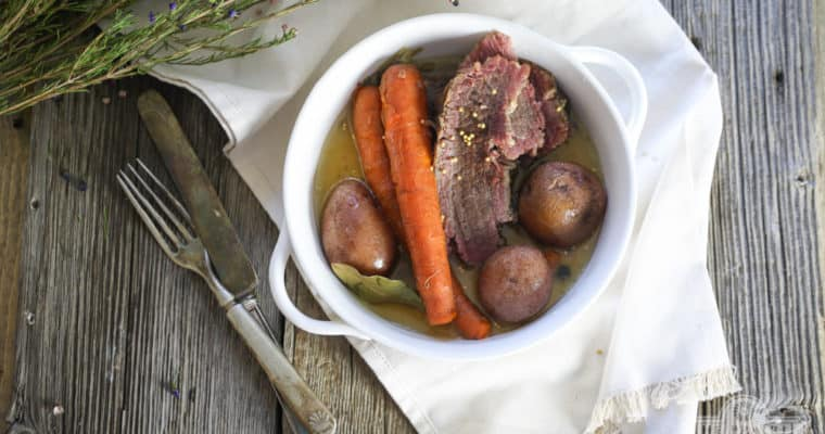 Homemade Corned Beef Recipe (without nitrates)