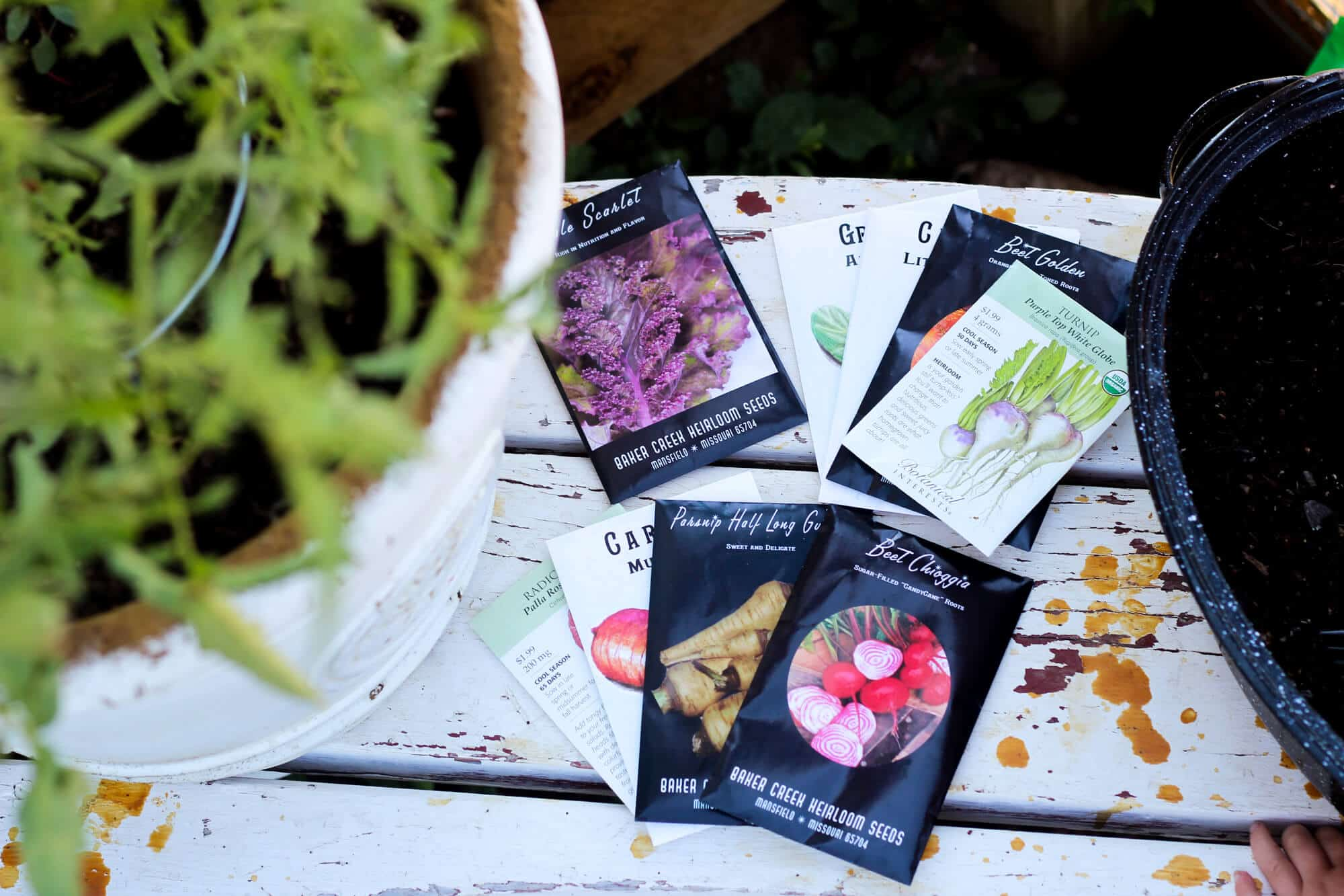 heirloom garden seeds