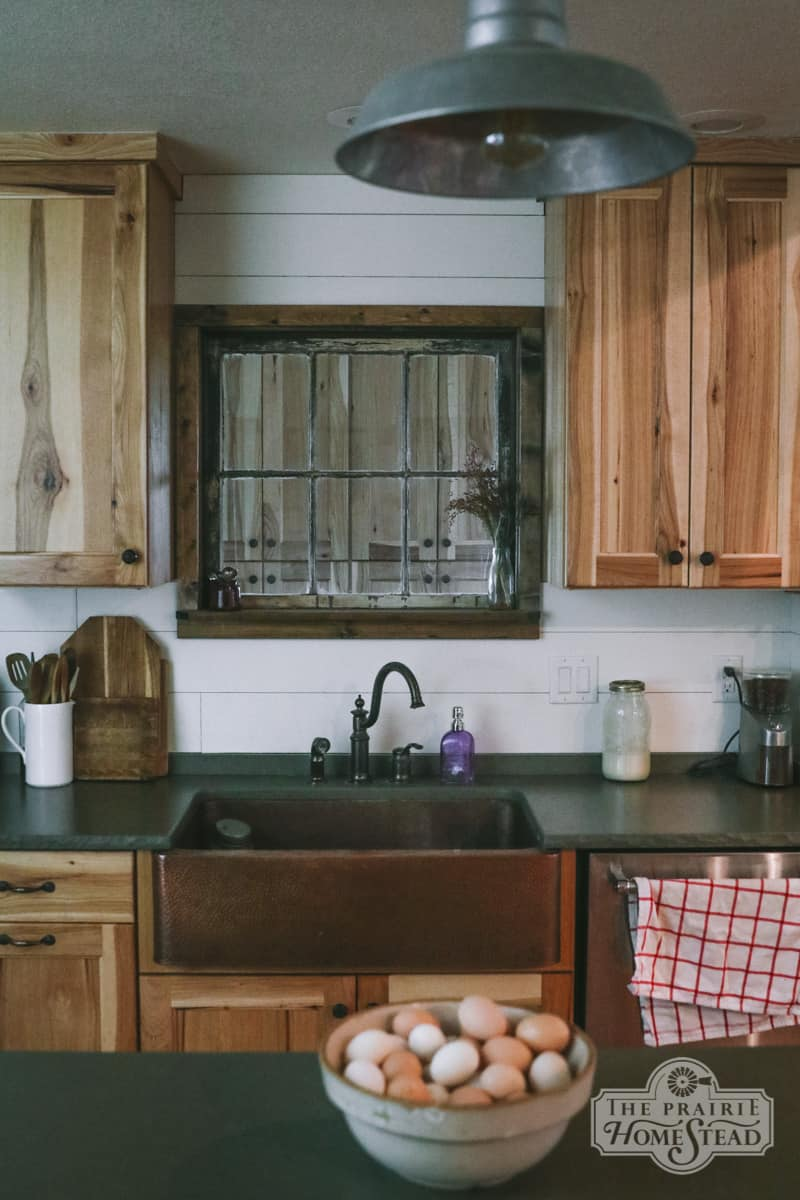 farmhouse kitchen remodel vintage
