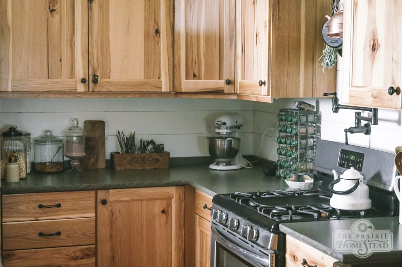 Swell Diy Shiplap Kitchen Backsplash The Prairie Homestead Download Free Architecture Designs Embacsunscenecom
