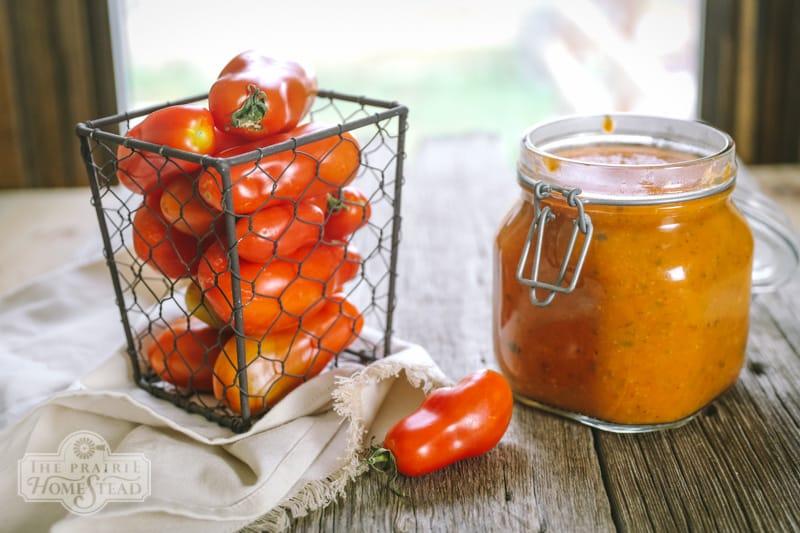 fast tomato sauce recipe