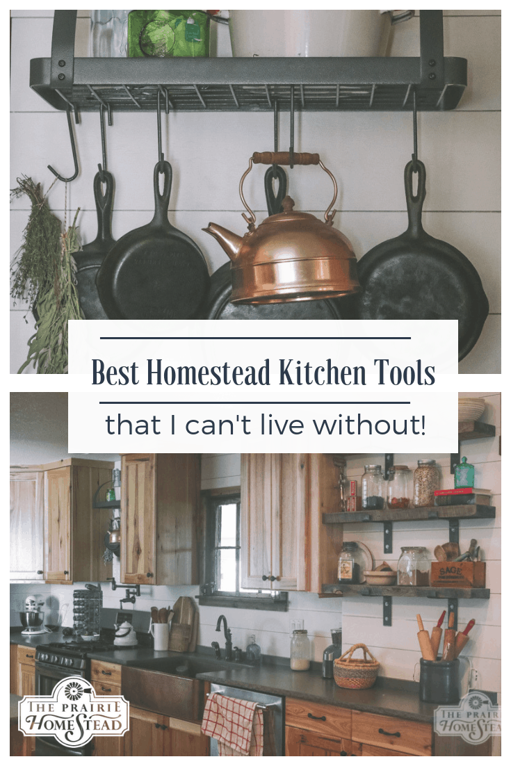 best homestead kitchen tools