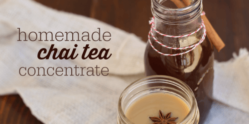 How to Make Chai Tea Concentrate | The