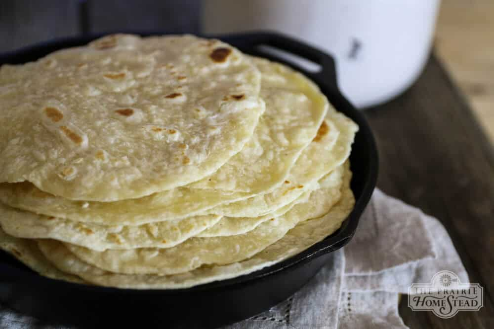 Homemade Tortilla Recipe