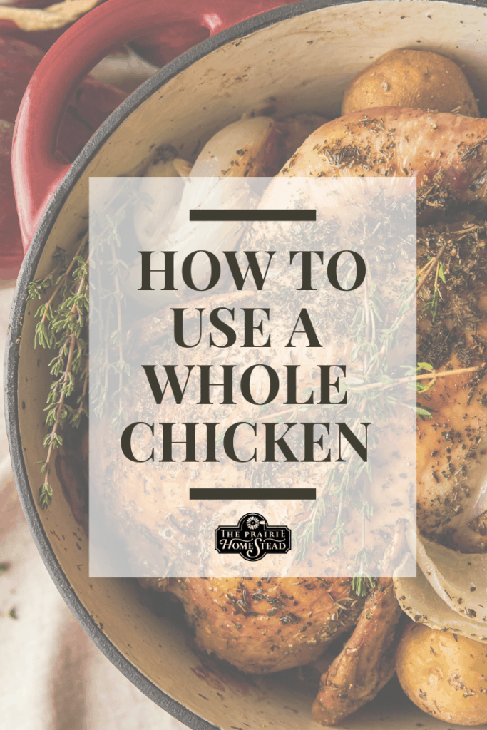how to use a whole chicken