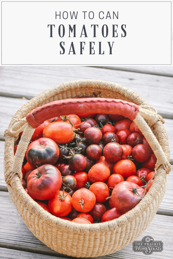 How to Can Tomatoes Safely At Home