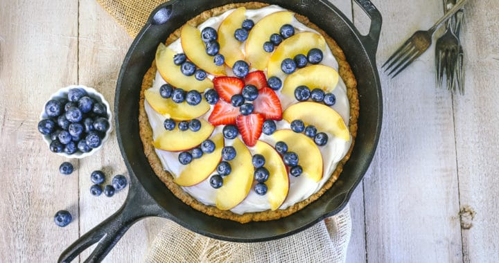 cast iron fruit pizza recipe