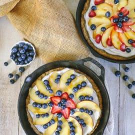 homemade fruit pizza recipe