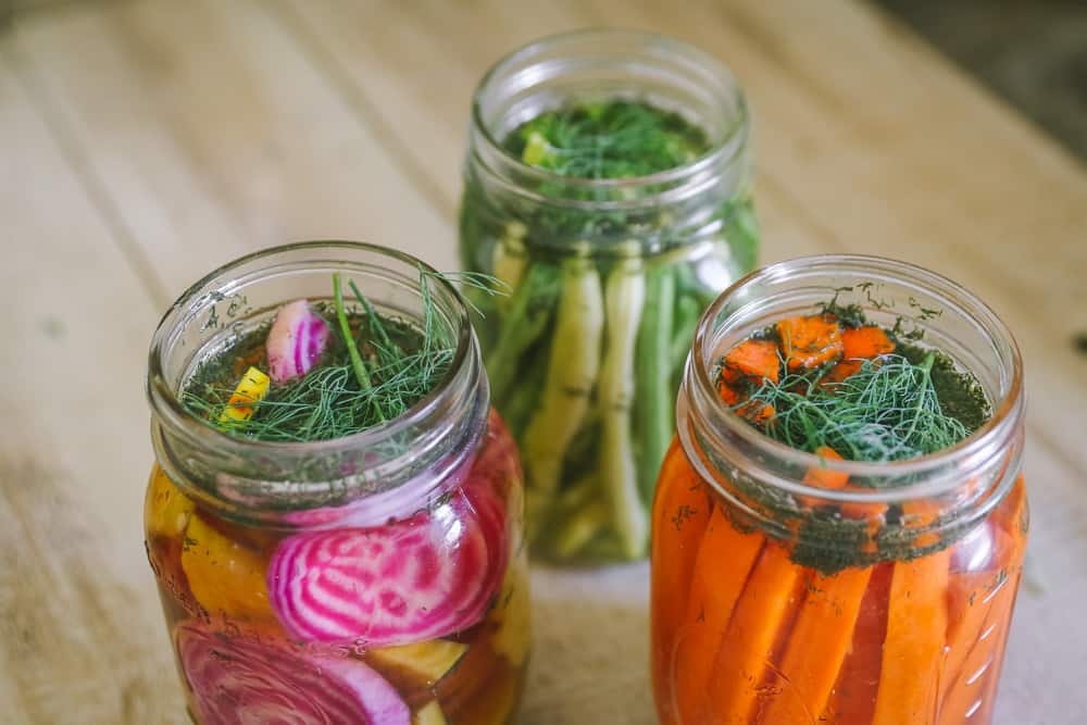 quick pickled vegetables recipe