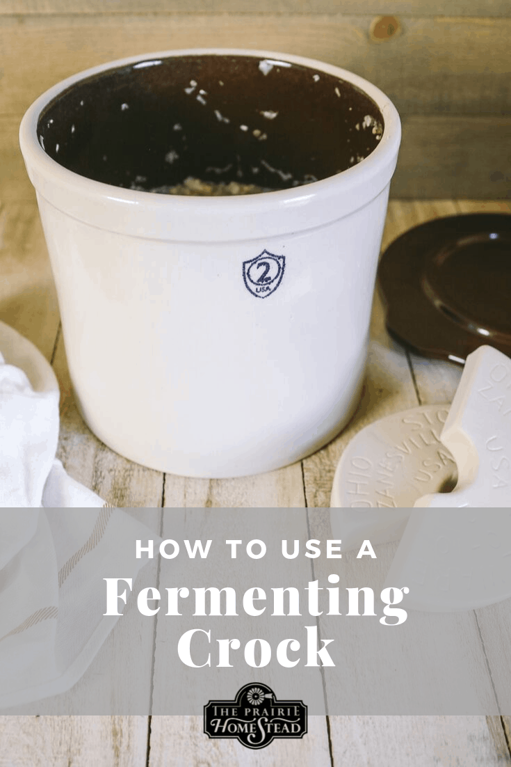 How to Use a Fermenting Crock