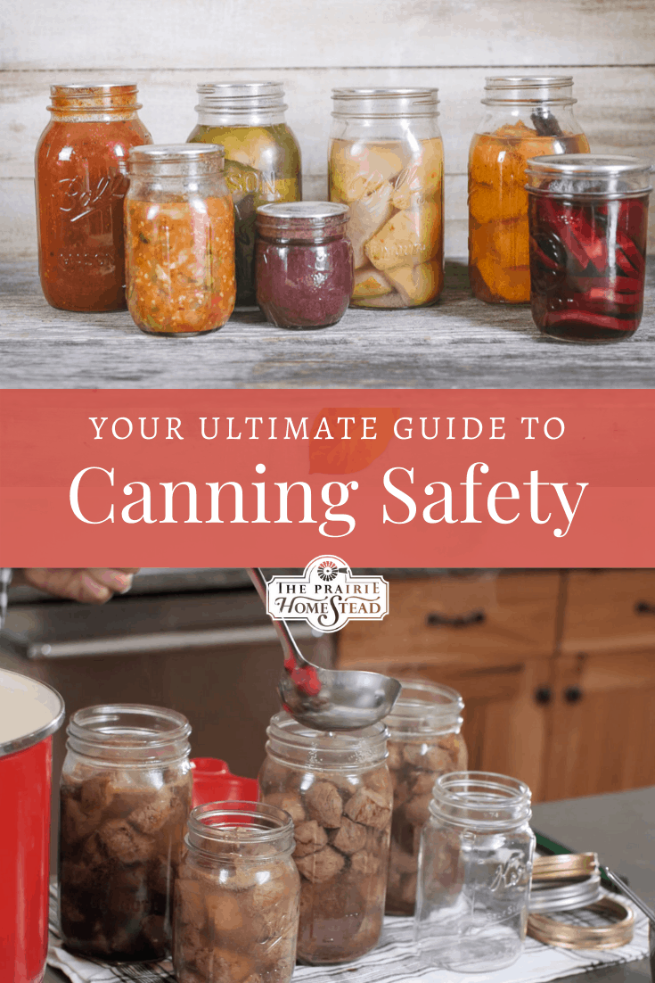 how to can food safely
