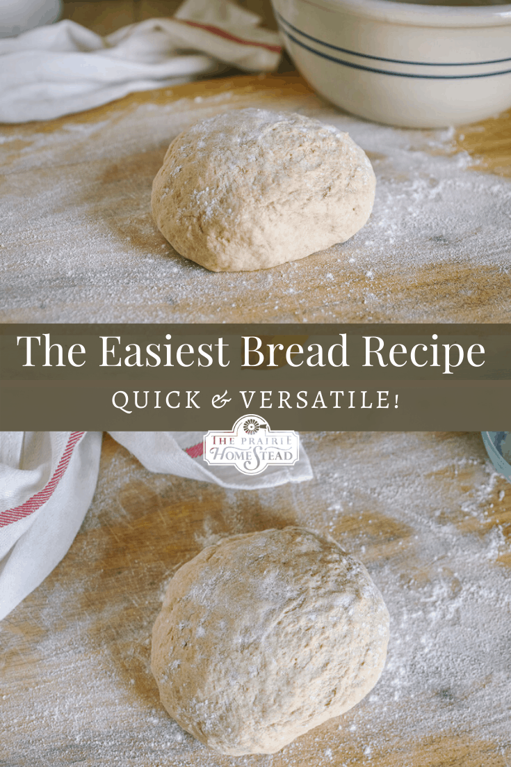 easy bread dough recipe