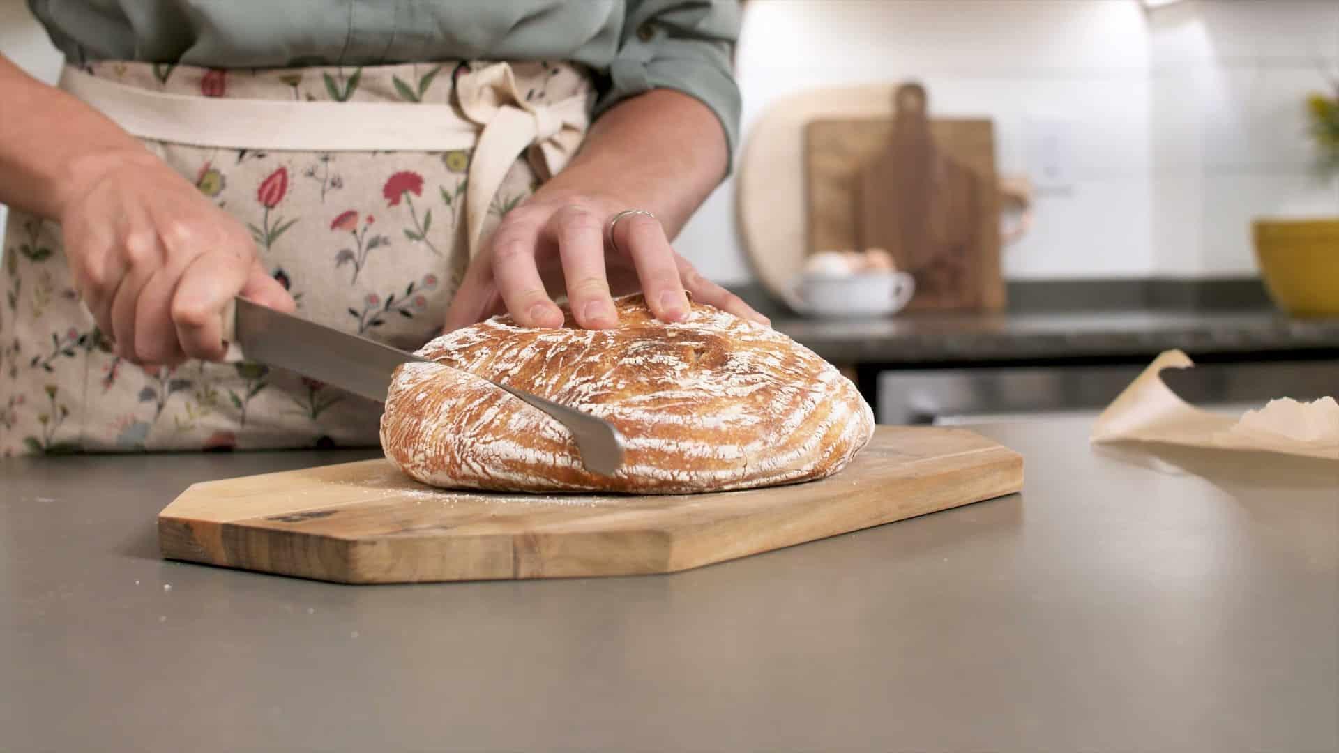 Using my sourdough starter to make sourdough bread