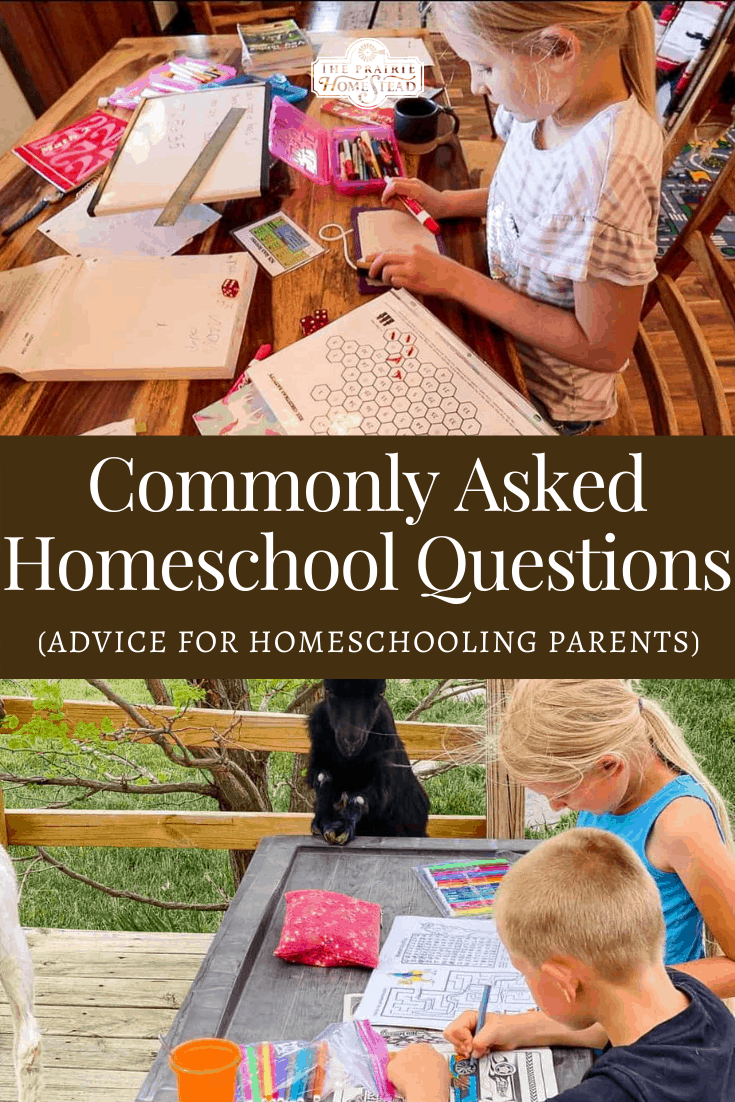 Answering Common Questions About Homeschooling