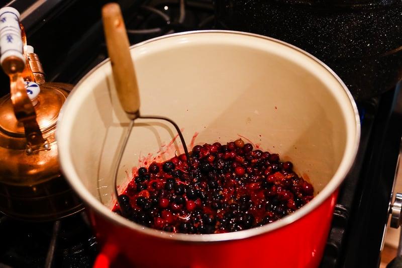 honey currant jam recipe