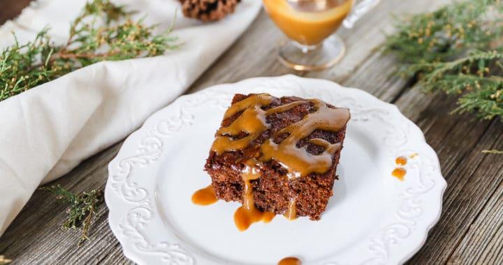 sourdough gingerbread cake