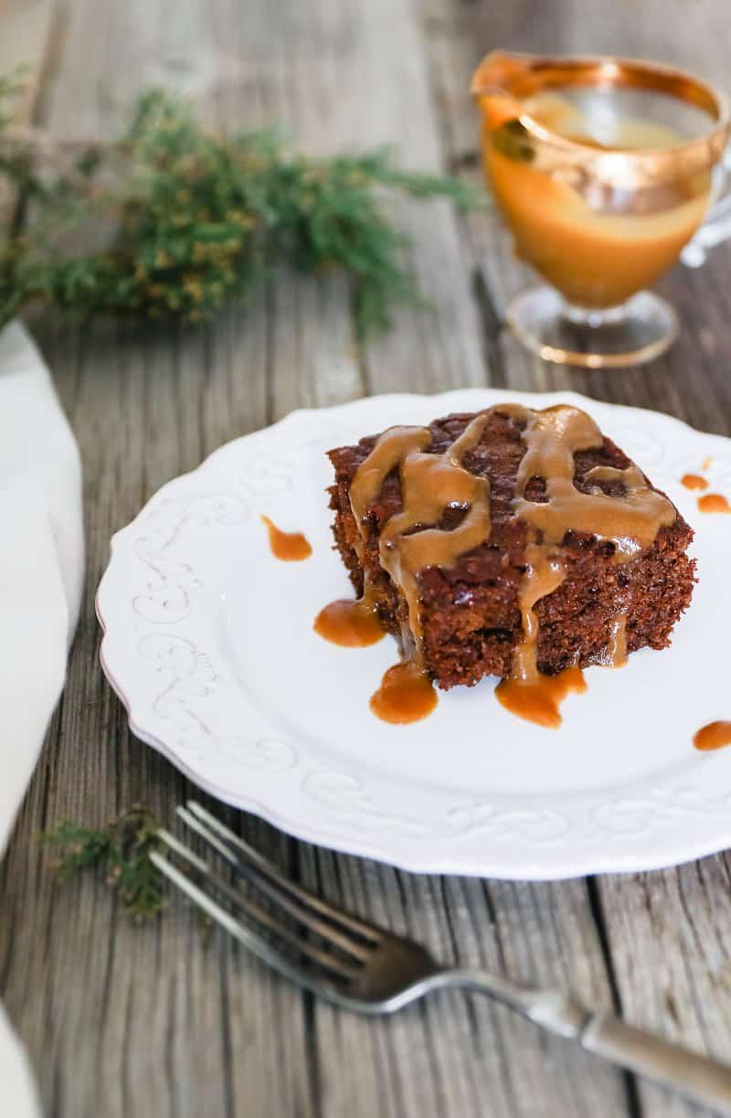 sourdough gingerbread cake recipe