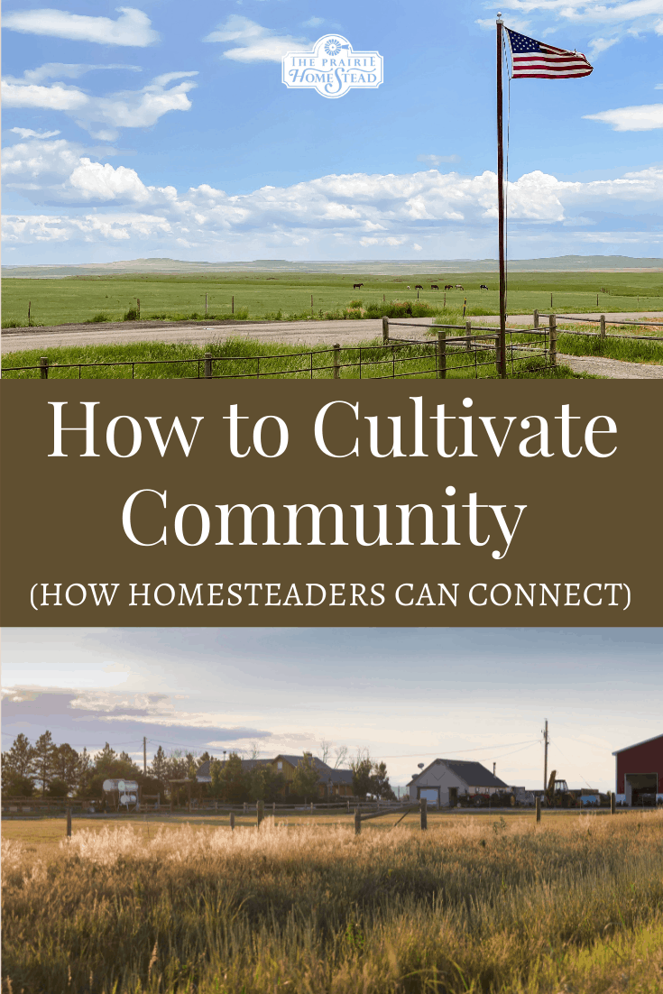 How to Cultivate Community While Homesteading
