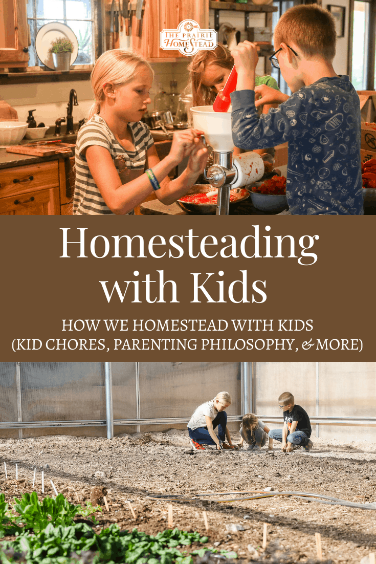 Homesteading with Kids: How We Do it