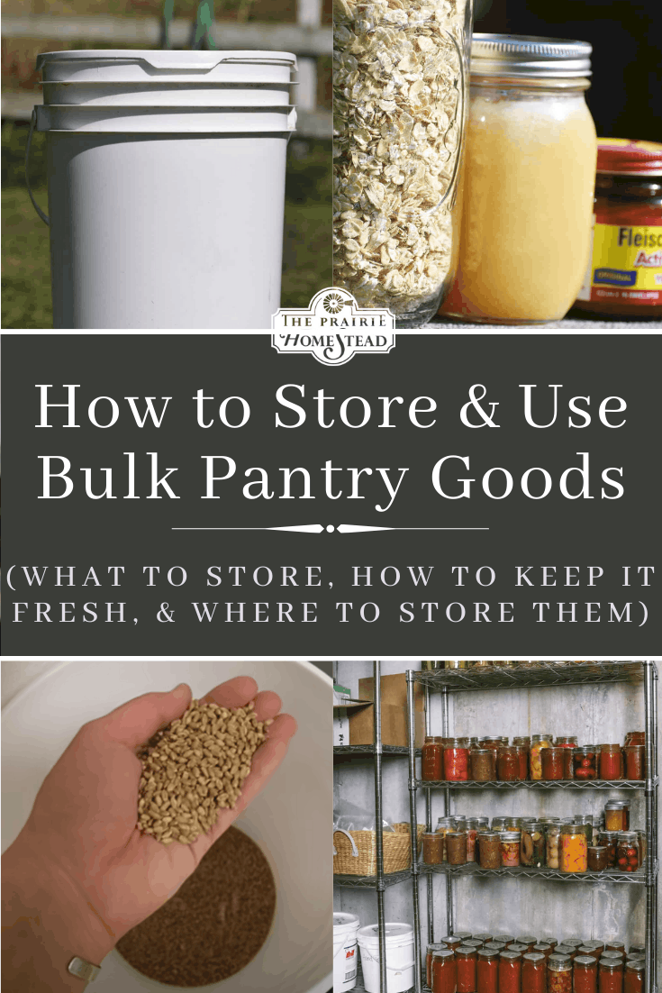 How to Store and Use Bulk Pantry Goods